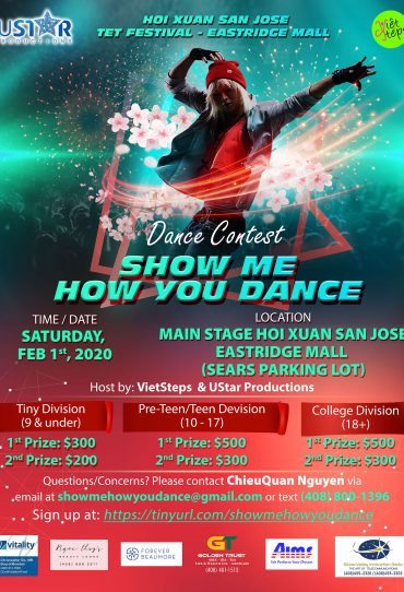 Dance Contest - Show Me  How You Dance
